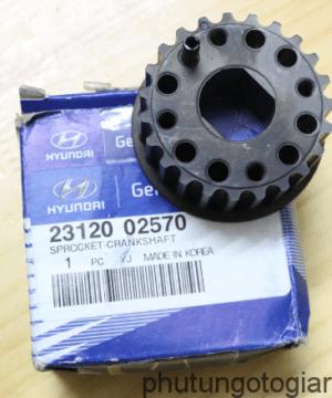 Bánh răng đầu trục cơ Hyundai I10 Grand