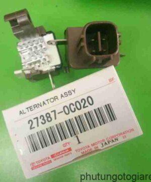 Tiết chế máy phát điện Toyota Innova, Fortuner, Altis 12V
