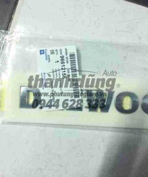 Lô gô chữ nổi Daewoo Matiz 1, 2
