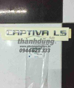 Lô gô chữ nổi Chevrolet Captiva